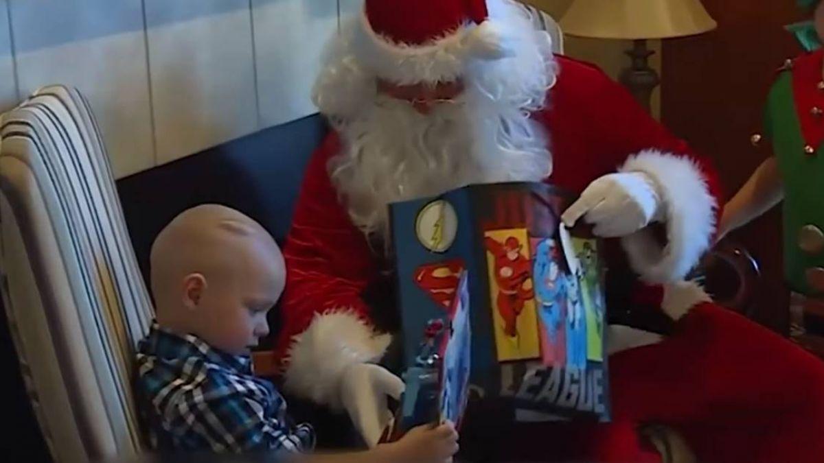最棒的禮物!2歲癌童剩2個月壽命…全村提早過聖誕節