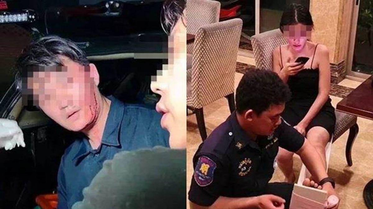 2男泰國約正妹開戰 衣服一脫不對勁!歐巴怒毆反遭打到送醫院