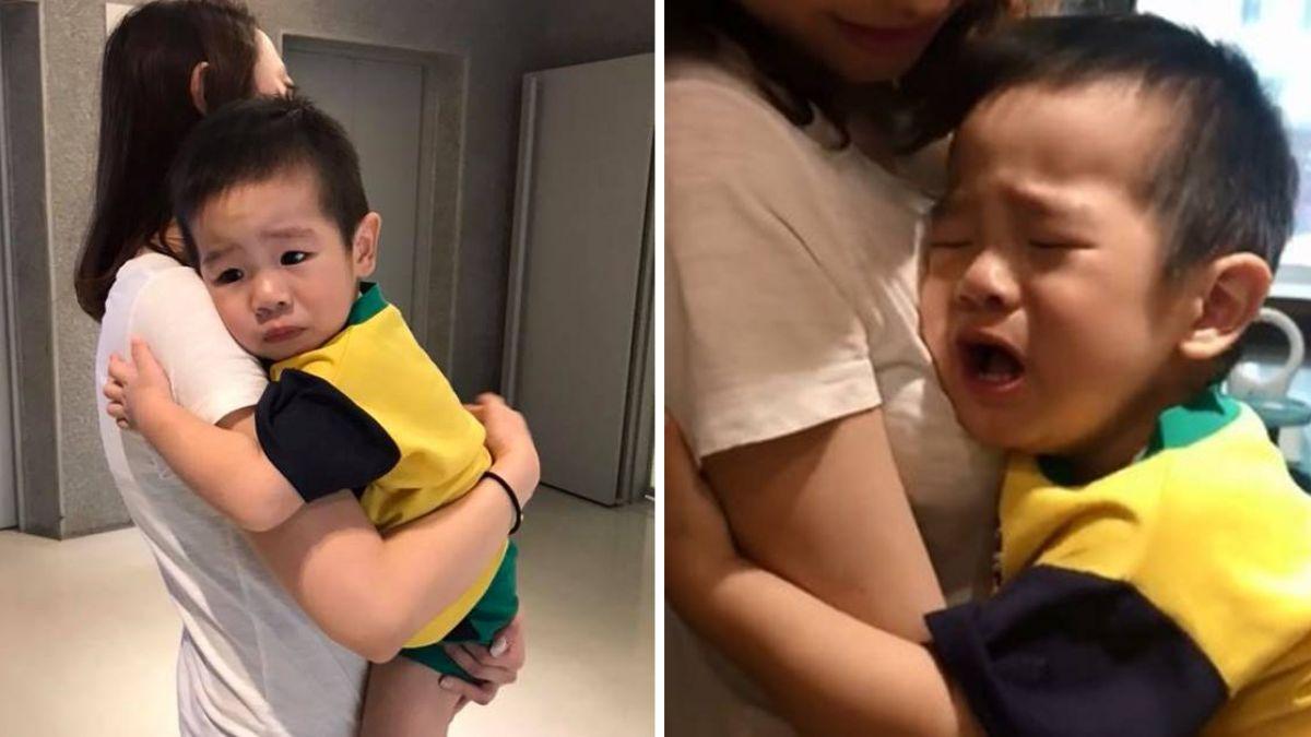 2歲兒怕打針…哭撲護士「懷中狂蹭」娘傻眼:完全沒掉淚