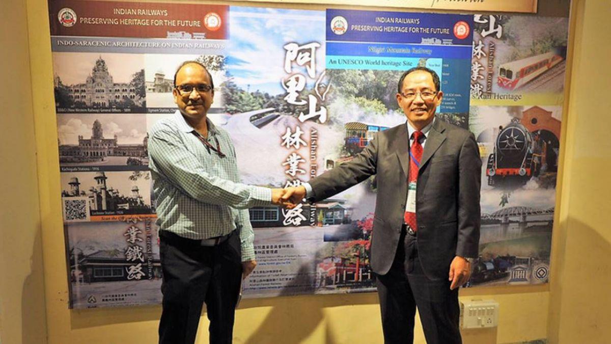 印度世界遺產鐵路經營有成  林務局前往取經