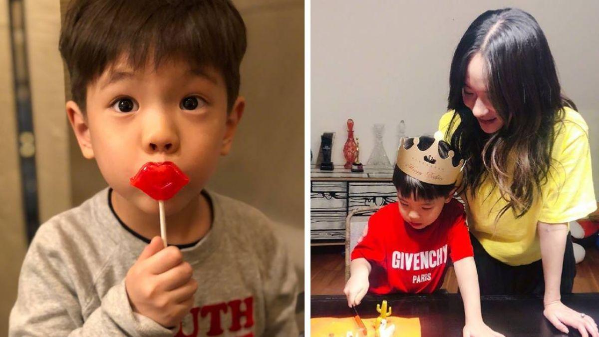 嗯哼大王5歲了!霍思燕對老公兒子「差別待遇」笑歪網友