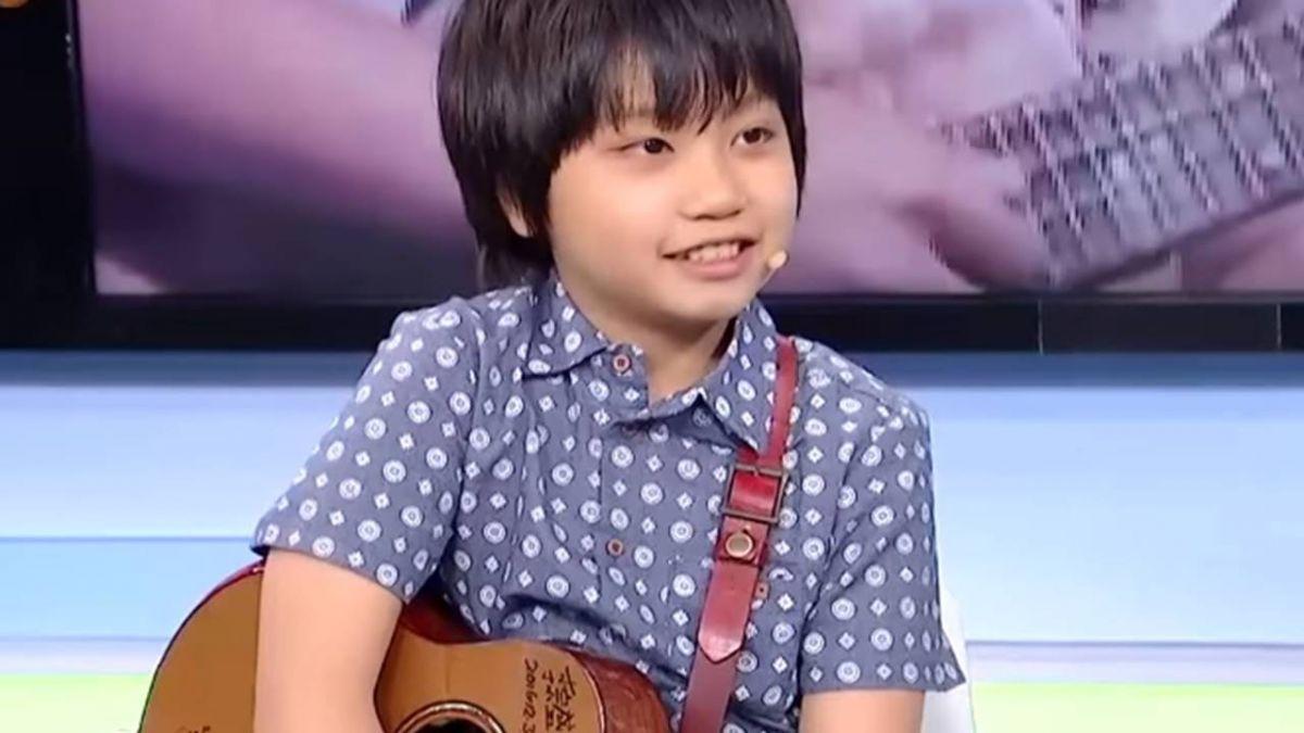 台11歲烏克麗麗神童馮羿豋「艾倫秀」收到世界限量大禮