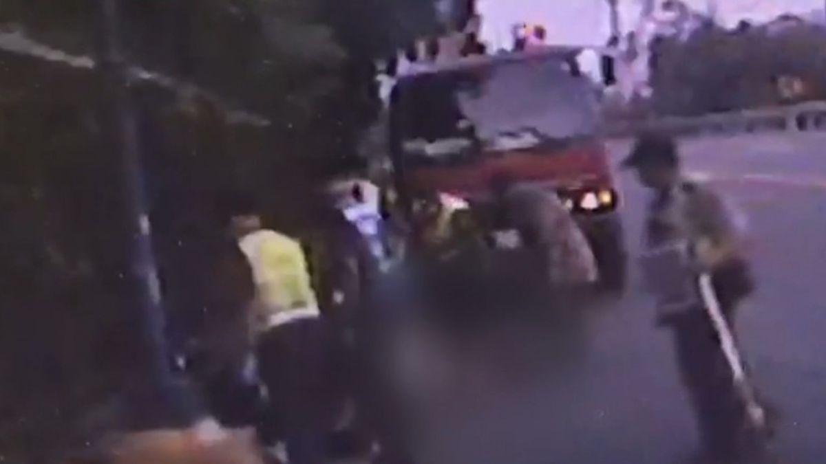 夜衝日月潭!2少年無照騎車…自撞摔水溝雙亡