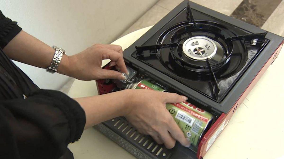 卡式瓦斯罐遇熱易爆!避鍋具過大、錯誤安裝