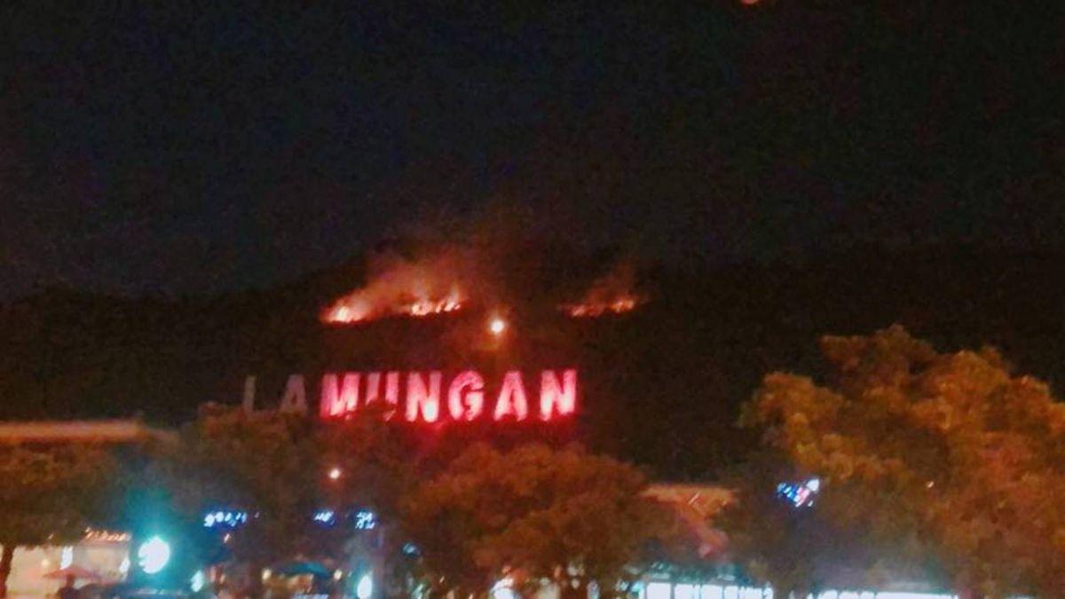 今夜最新!國3南投服務區山坡起火 民眾嚇:越燒越大片