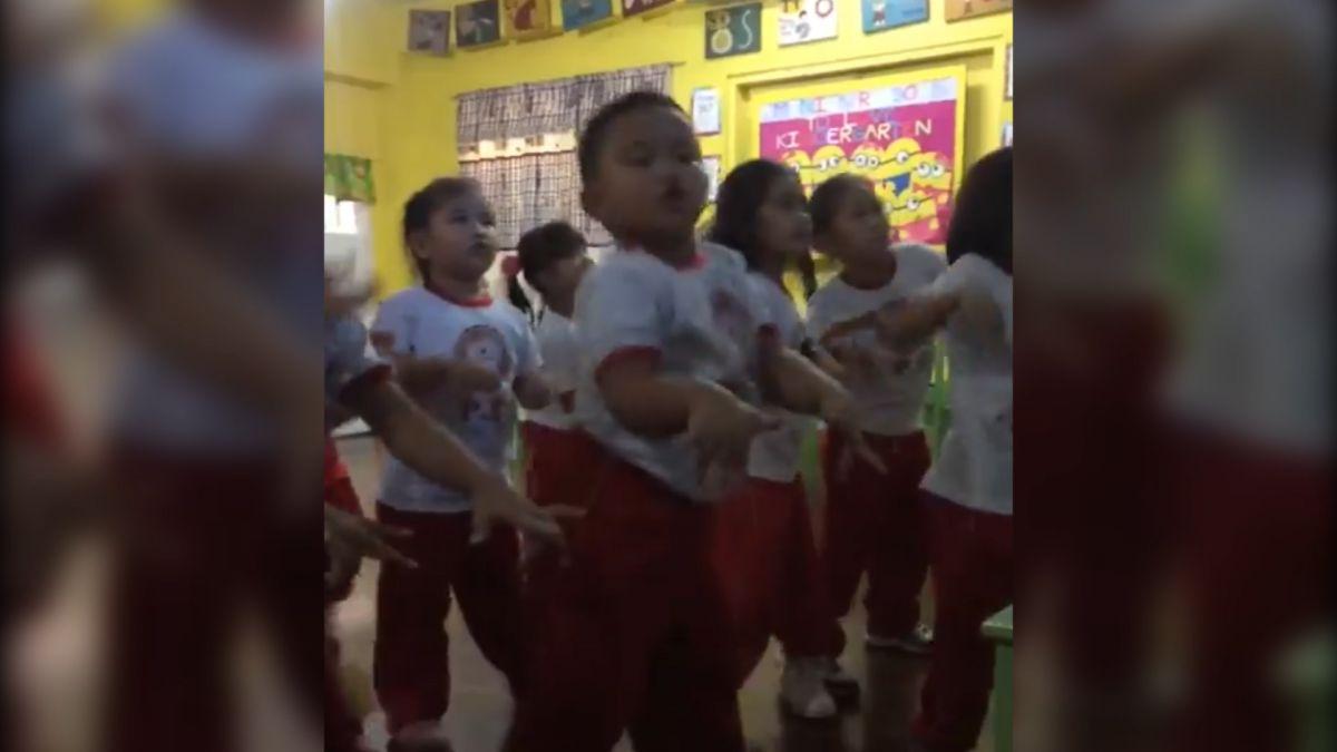 好會扭!4歲小胖弟妖嬌跳熱舞 神模仿韓團《bboom bboom》