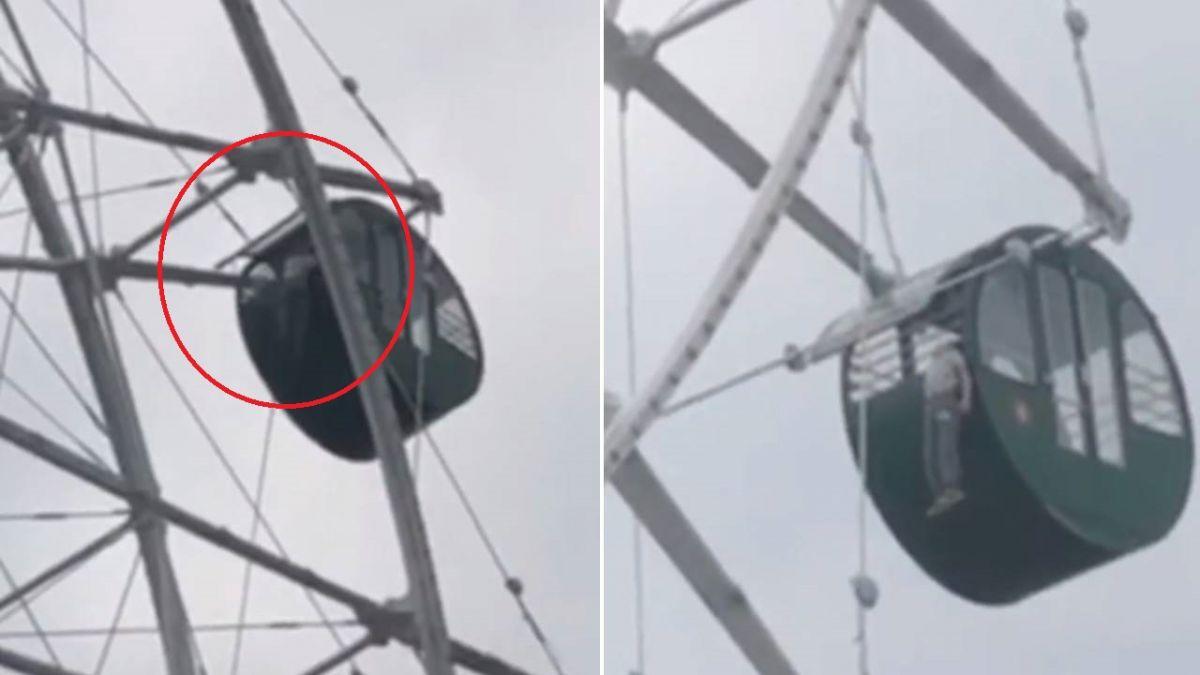 5歲男童獨坐摩天輪…半空「上吊直掛」停止掙扎 遊客全嚇壞