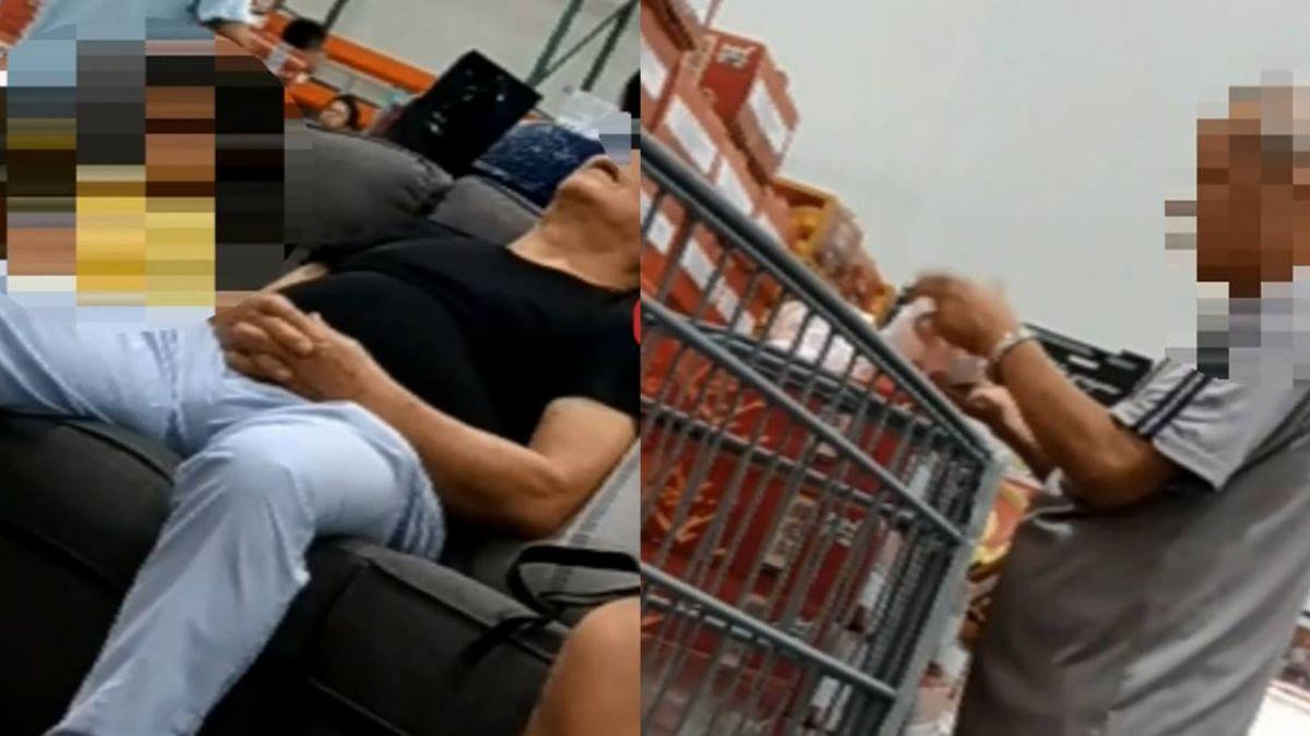 【獨家】美式賣場直擊!小孩占3C玩 桌椅家具成休息區