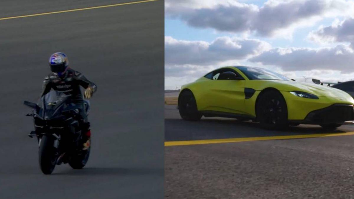 跨界飆速大對決!重機狠甩對手 F1賽車、F16戰機只能看車尾燈