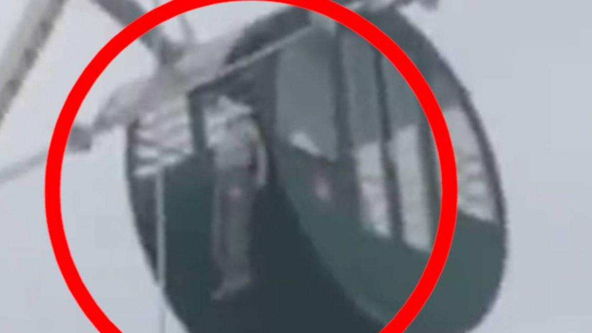 悚!5歲男童懸空吊掛摩天輪  頭卡欄杆突停止掙扎嚇壞遊客