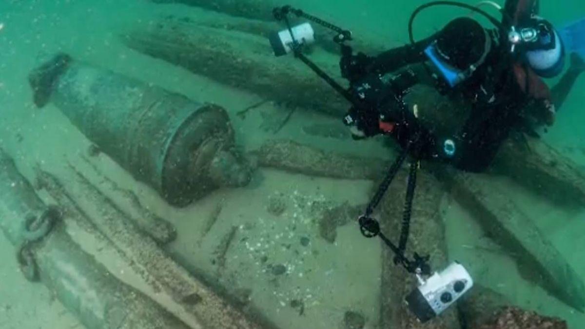 葡萄牙發現400年前沉船殘骸 載有明朝瓷器