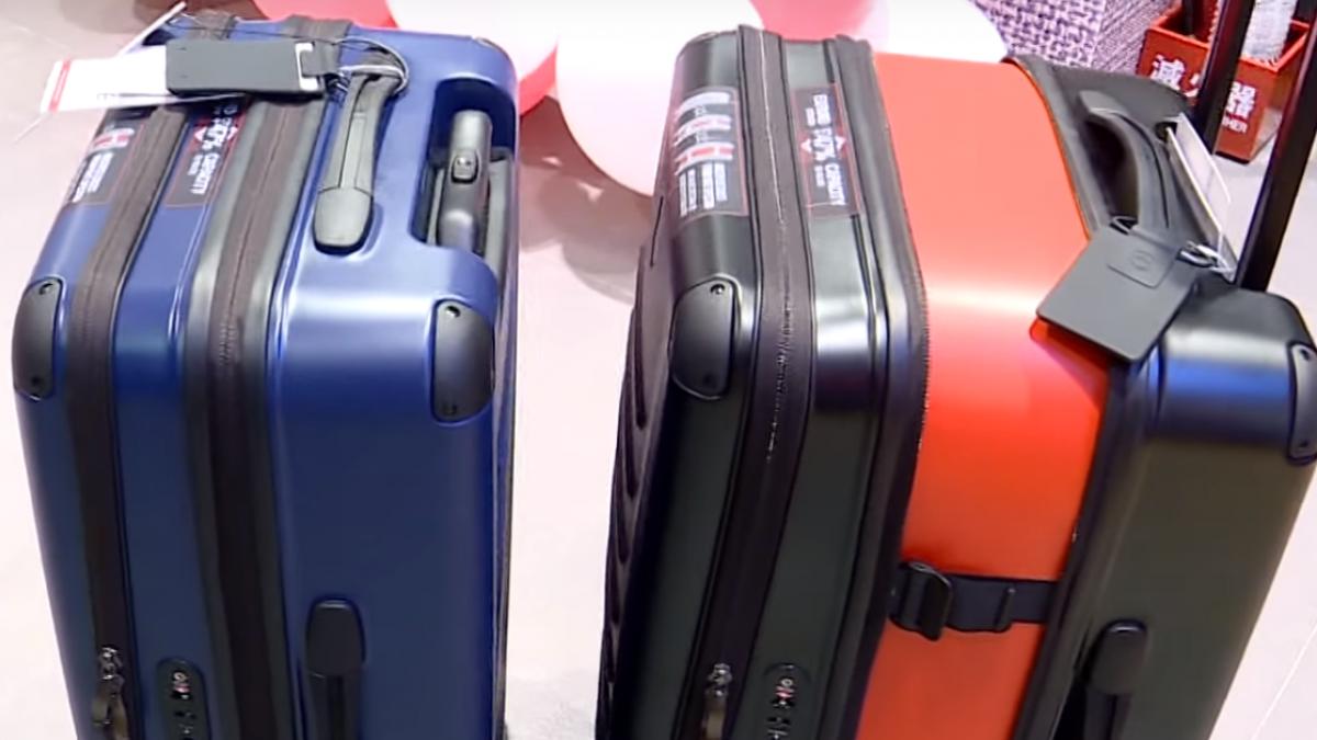 多功能行李箱創新設計 搶攻各消費族群