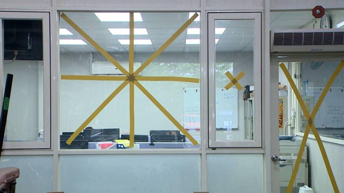 【獨家】強風恐破窗!膠合玻璃安全 業者:也可貼防爆膜