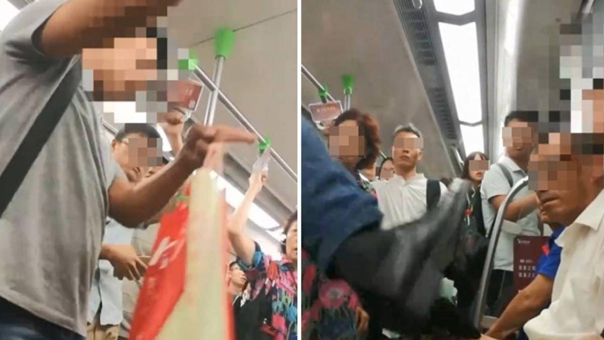 不滿年輕人未讓座!他「出腳踹肚」狂嗆聲反遭乘客譙爆