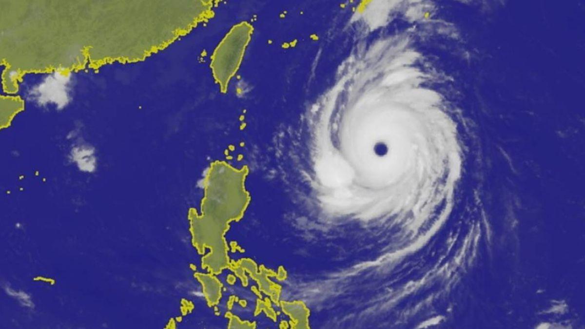 潭美颱風減弱為中颱 28日起環流帶雨來