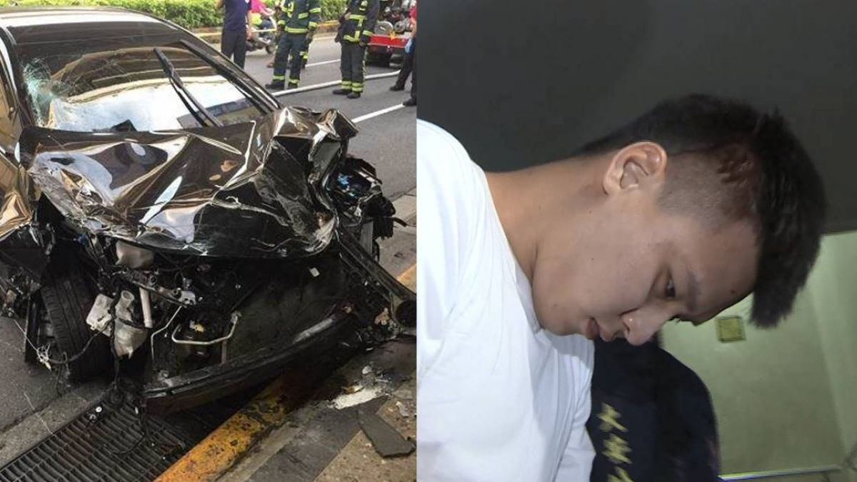 23歲酒駕男…害女全身撞碎亡!親友嗆記者:他有肖像權 父冷笑回應