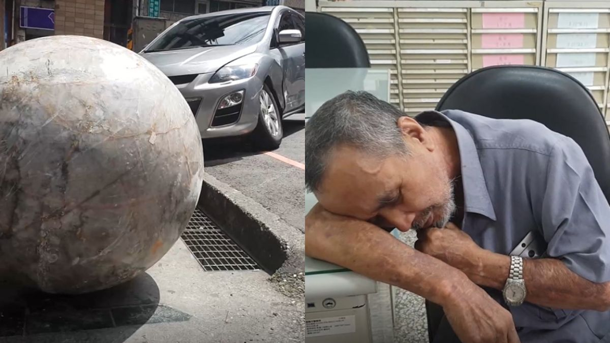 「明國寶水晶球」如保齡球撞毀5車 老闆崩潰坐癱:不賣了啦