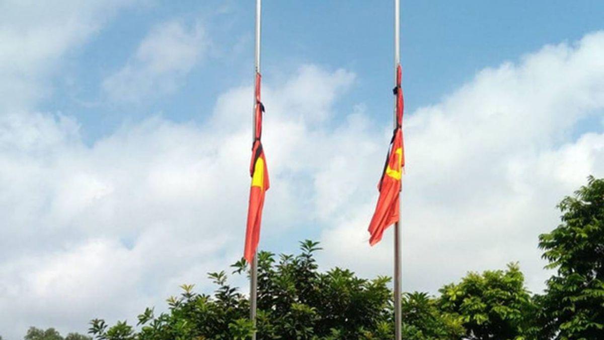 越南國葬陳大光 全國降半旗哀悼2天