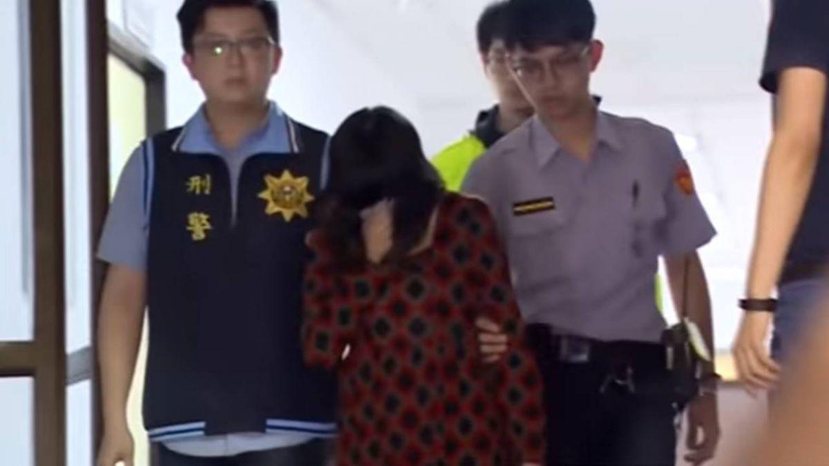 與同居人虐死7歲兒 女子二審判10年6月