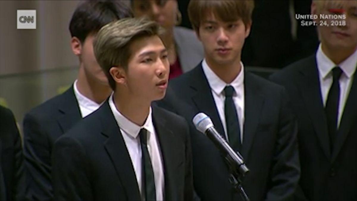 「勇敢表達自己吧!」BTS登聯合國 隊長6分半全英文演講感動眾人