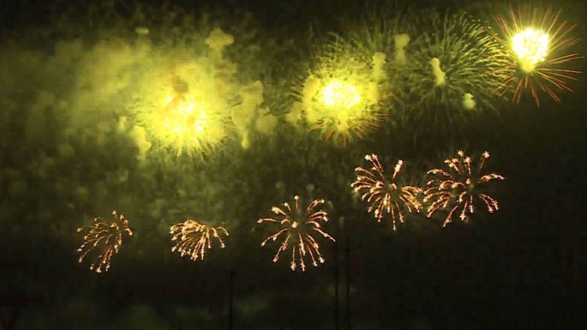 國慶焰火閃耀花蓮 佈彈線1300公尺施放逾3萬發