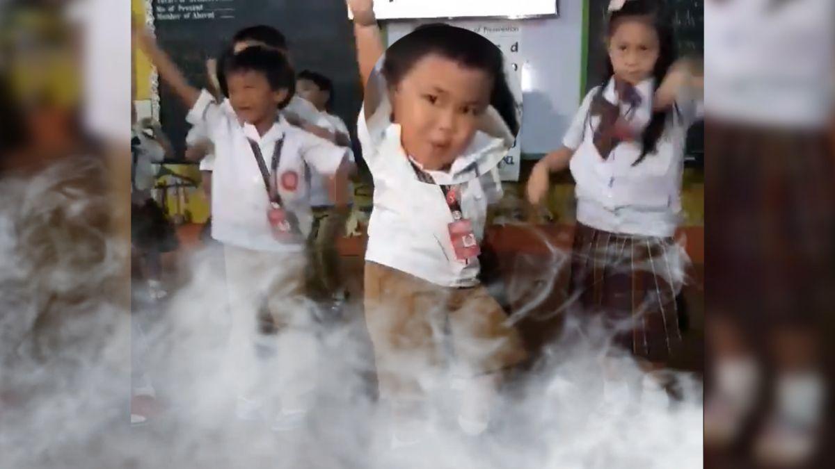 菲4歲小胖弟又一神作! 超魔性扭動大跳韓曲《BAAM》