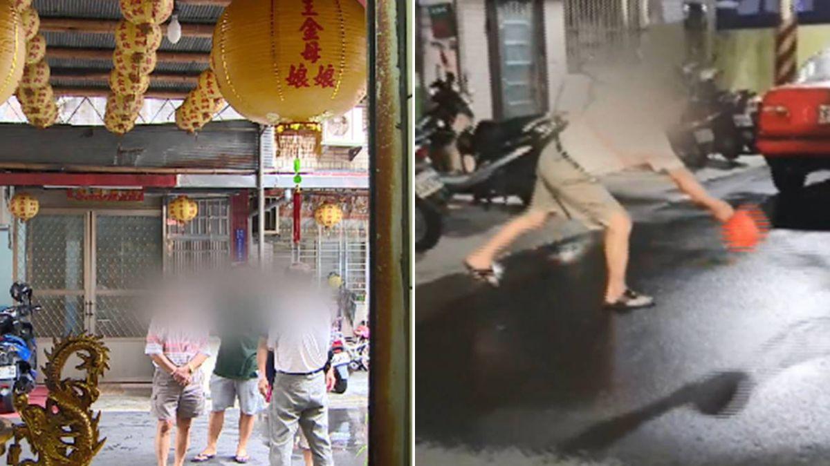宮廟潑熱水燙貓影片曝光 網轟:太狠毒!廟方說話了