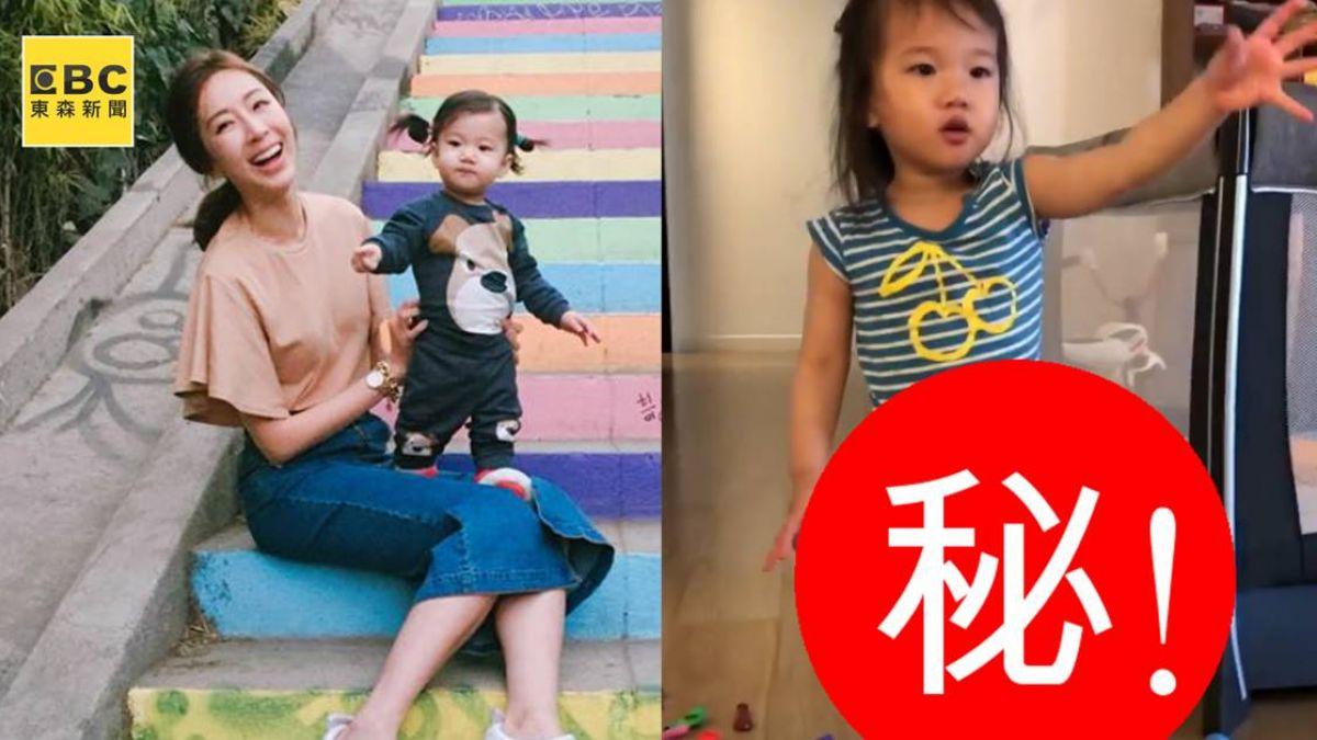 1歲Lucy暴風抽高…擁逆天長腿 網友驚:隋棠基因太強