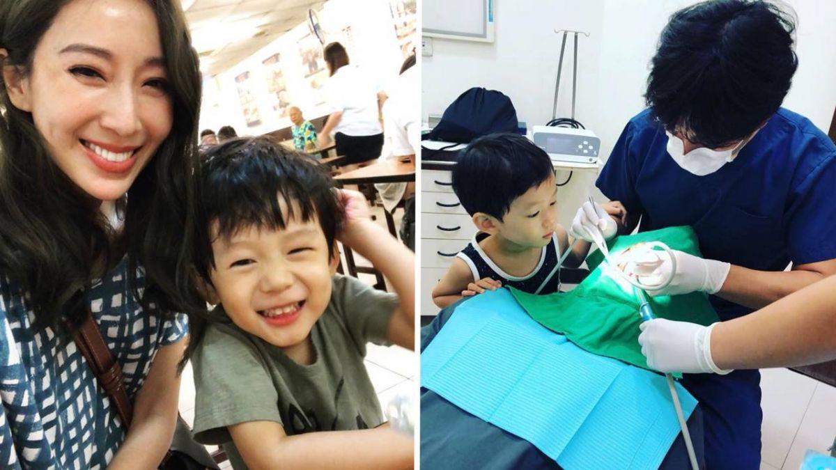 小孩超怕看牙!隋棠妙招「很有用」 Max乖乖走進診所
