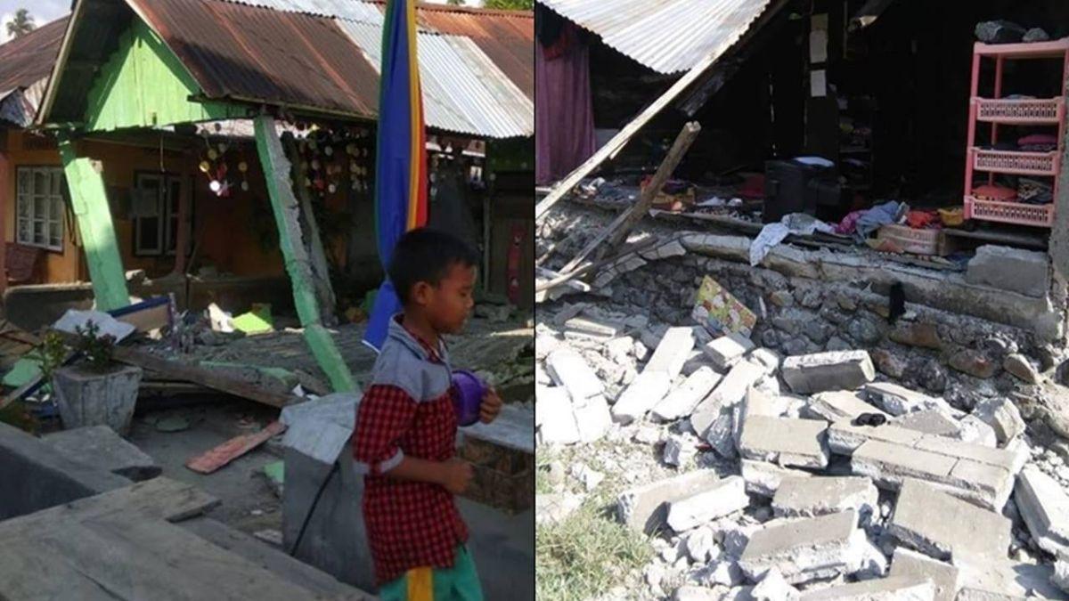 印尼蘇拉威西島7.5強震至少1死10傷 海嘯警報發布