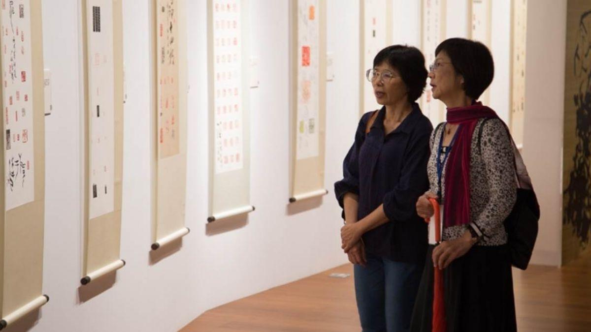 「兩岸漢字藝術節」盛大展開!打破傳統靜態印象 民眾驚艷