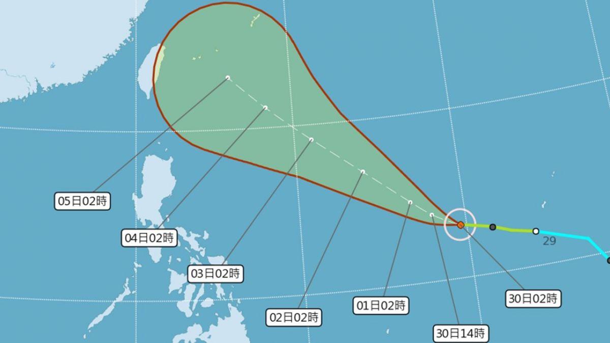 康芮往台灣前進!「雙颱」接力 今起低溫下探21度