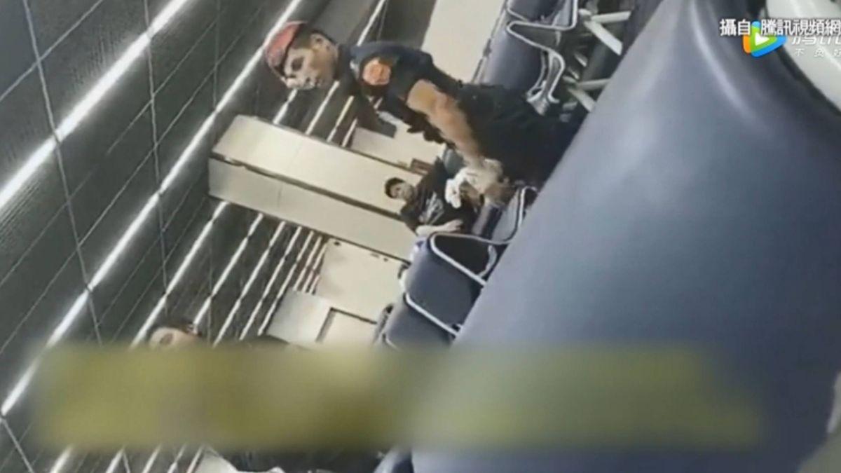 大陸遊客遭泰機場保全掌摑?拍視頻控不給小費挨打