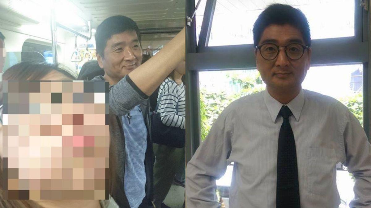 捷運上巧遇「李組長」 網友驚呼:他一皺眉就快逃!