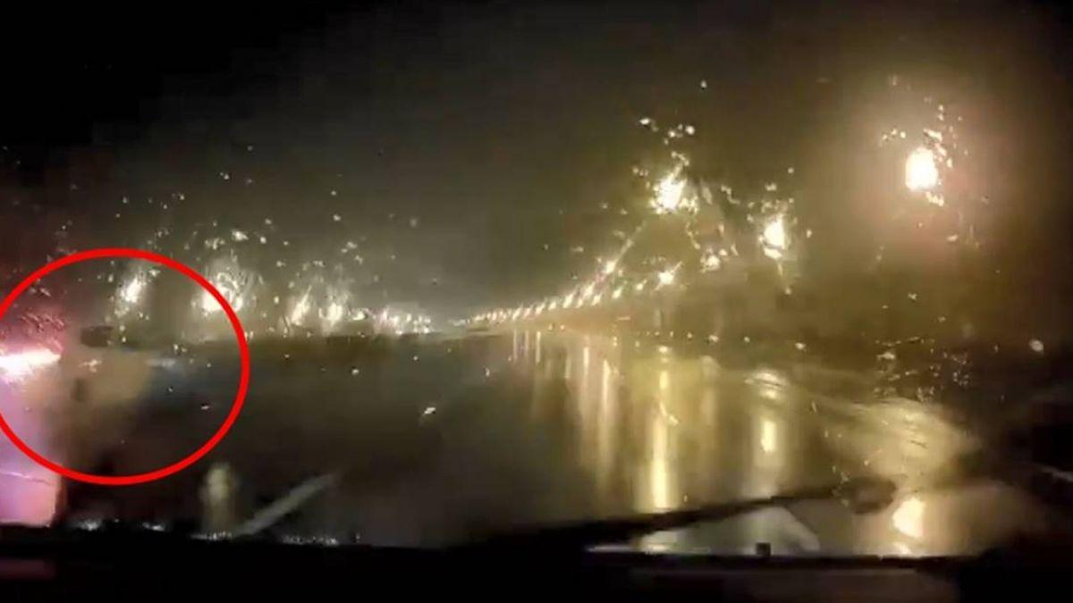 這嘴開過光!雨天遇超車…她碎念「小心打滑」秒應驗