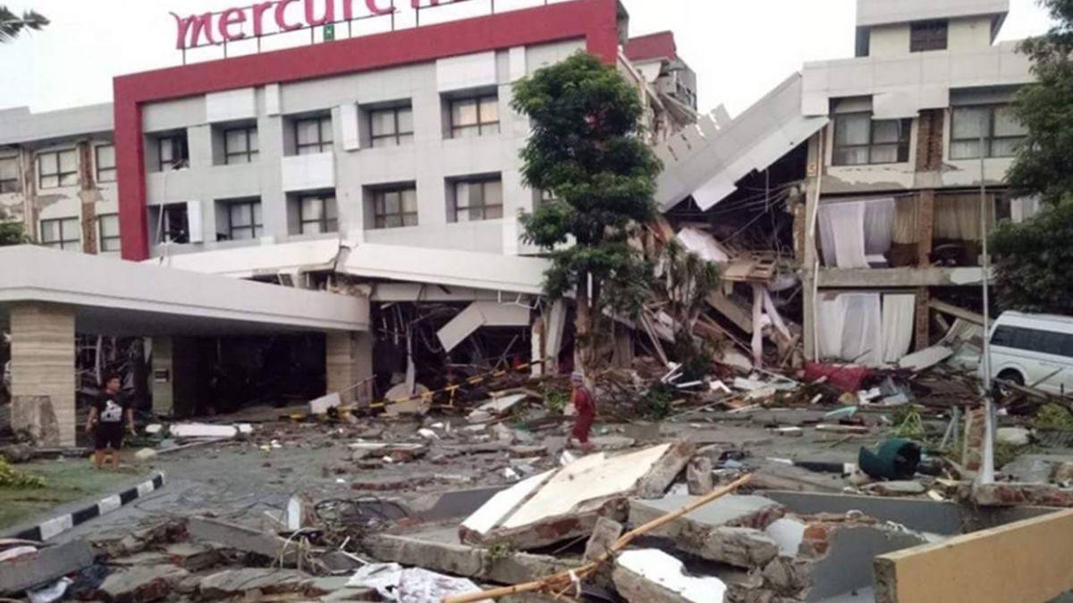 驚險脫困印尼強震災區 4台人搭乘印尼軍用機抵錫江