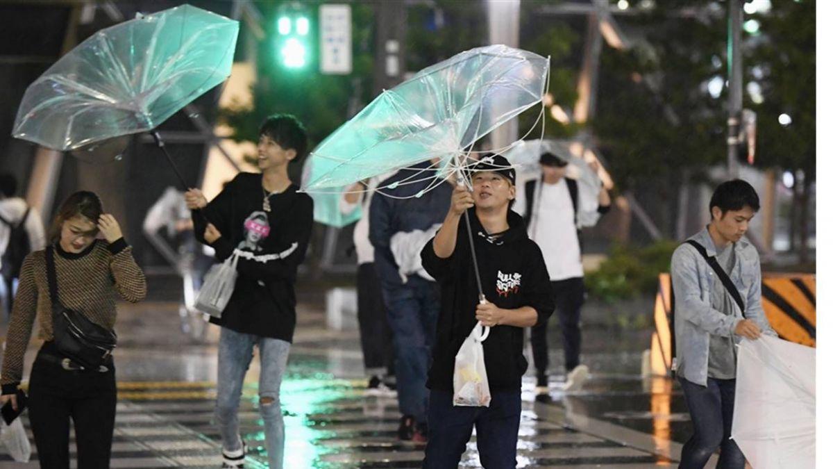 潭美登陸日本 恐出現破紀錄強風