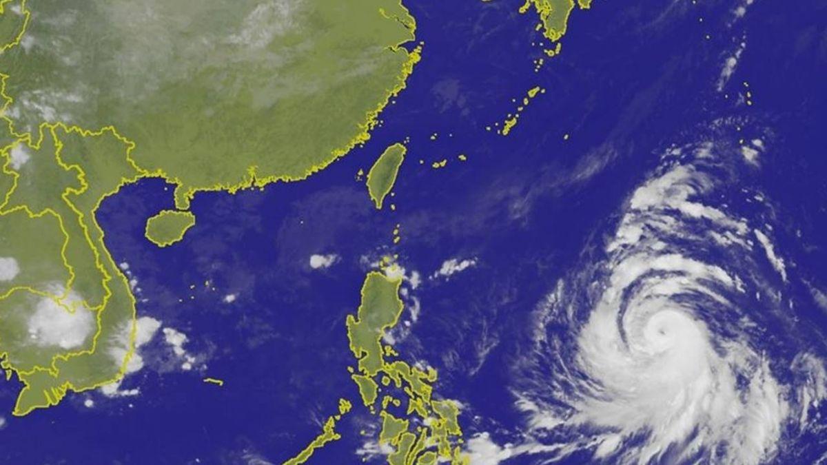 中颱康芮持續增強 是否侵台「這一天」成關鍵