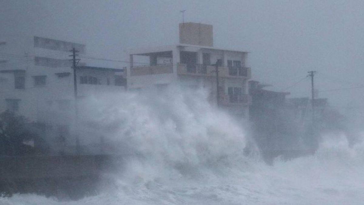 潭美颱風襲日本 釀2死逾120傷