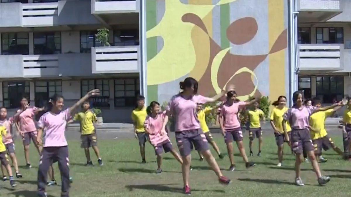 30秒舞蹈推動校園反霸凌 學生運動調整身心