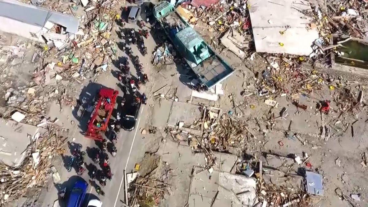 印尼強震重災區 土壤液化造成大破壞