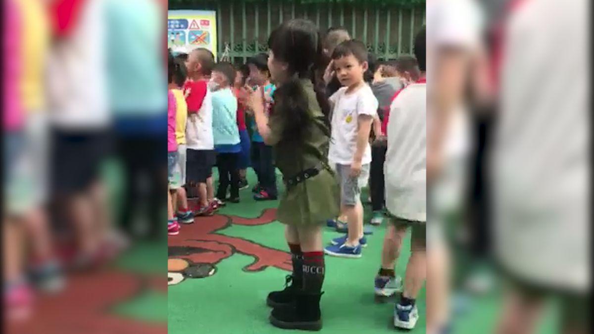 少男殺手4ni!3歲萌妹跳晨操 超狂底迪拋直球 害羞弟黯然退出