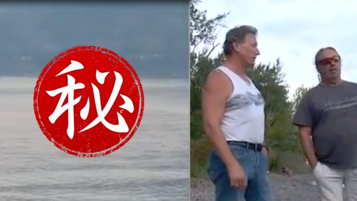 一個月現身三次!加拿大水怪湖中探頭 目擊者驚:像恐龍