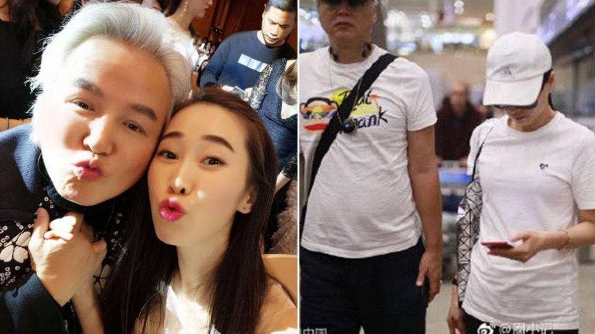 林瑞陽、張庭機場「臭臉0互動」 婚變風暴持續擴大!