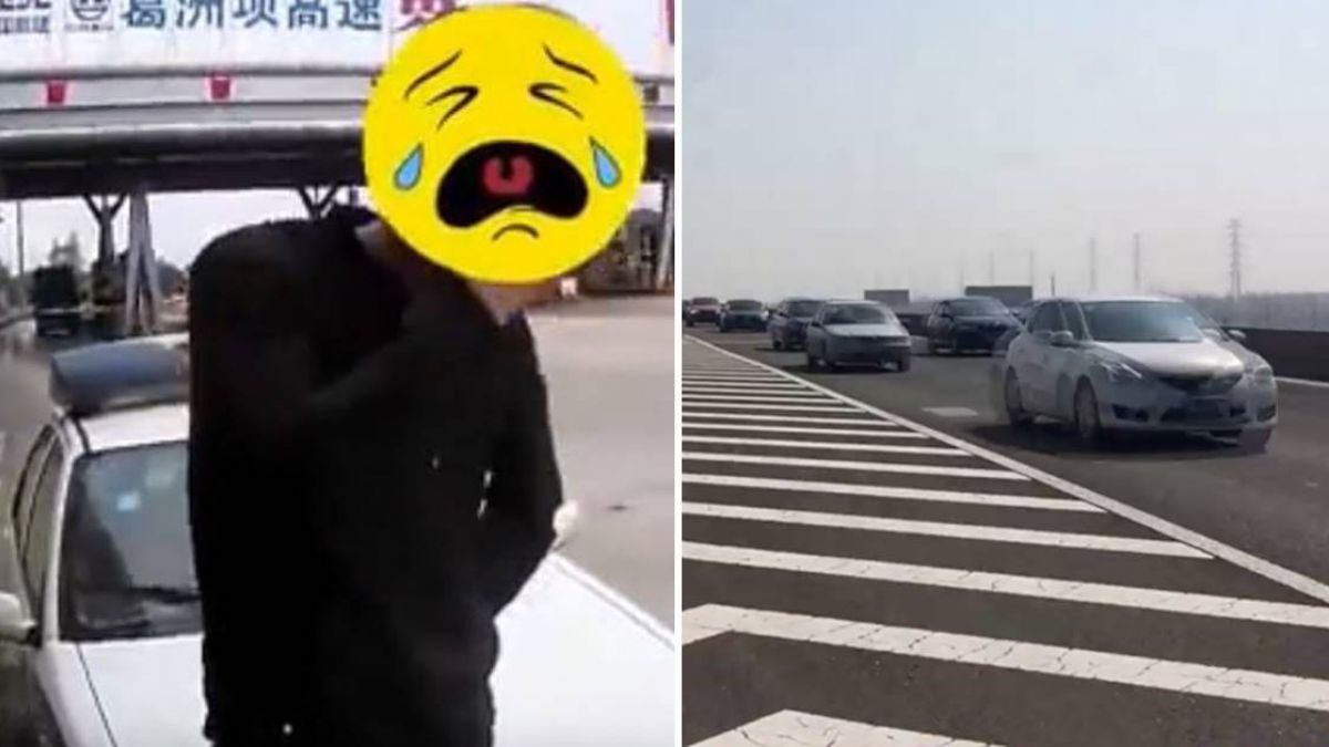 和女友吵架!菜鳥開高速公路尋人嚇噴淚 警笑歪:哭啥