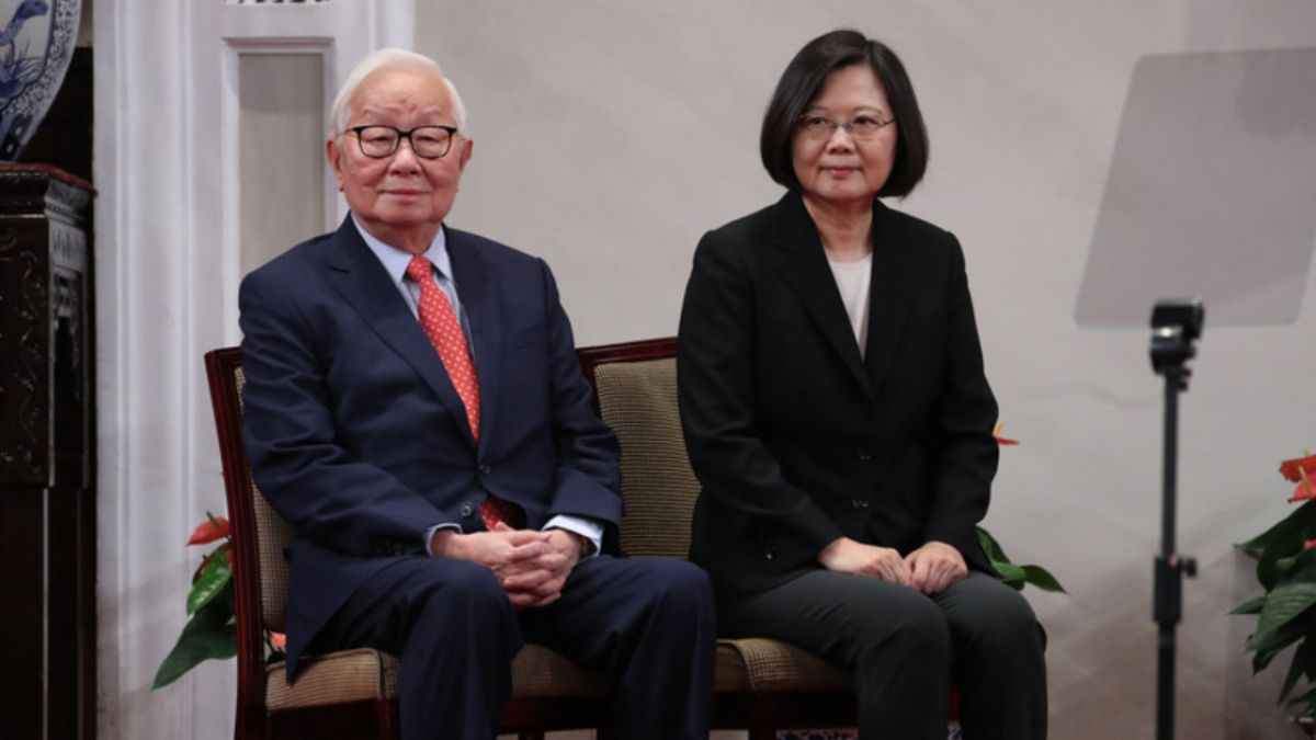 總統宣布APEC特使 蔡英文:張忠謀是台灣共識不二人選
