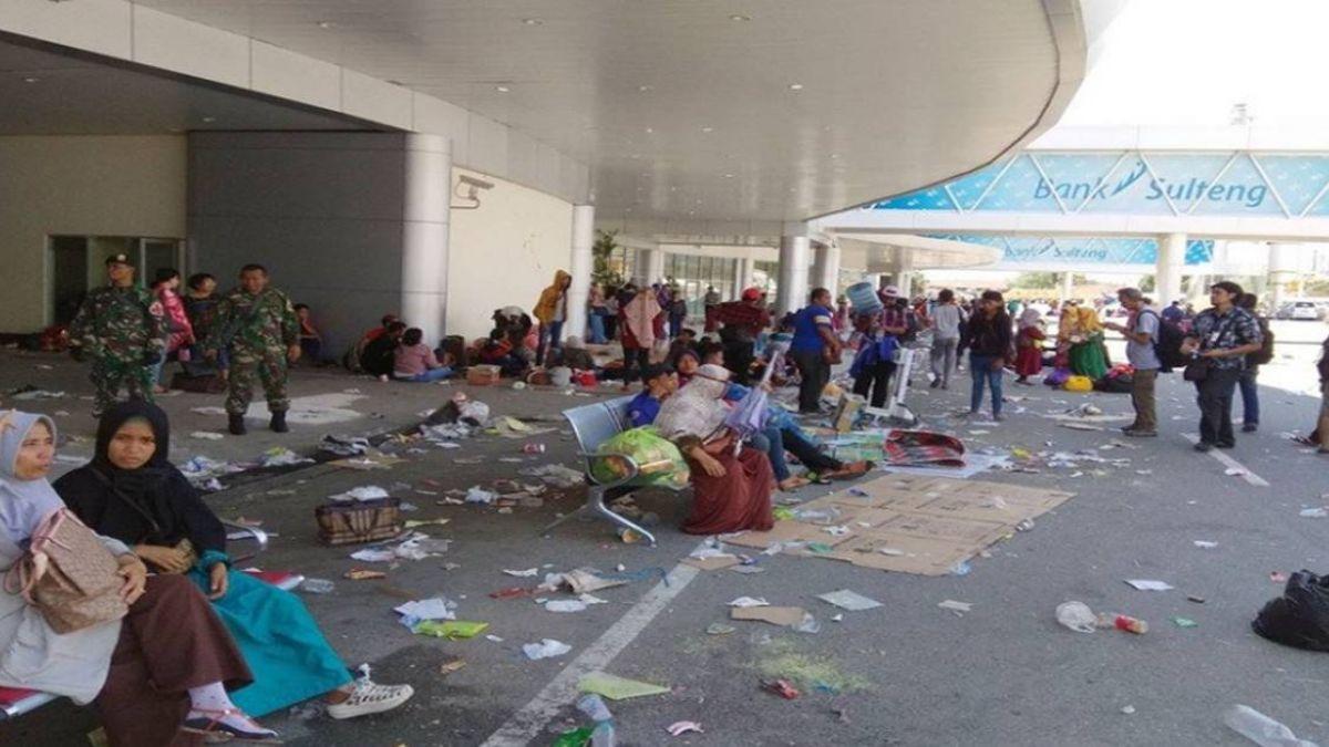 禍不單行!印尼蘇拉威西島才經歷地震與海嘯  今早火山爆發