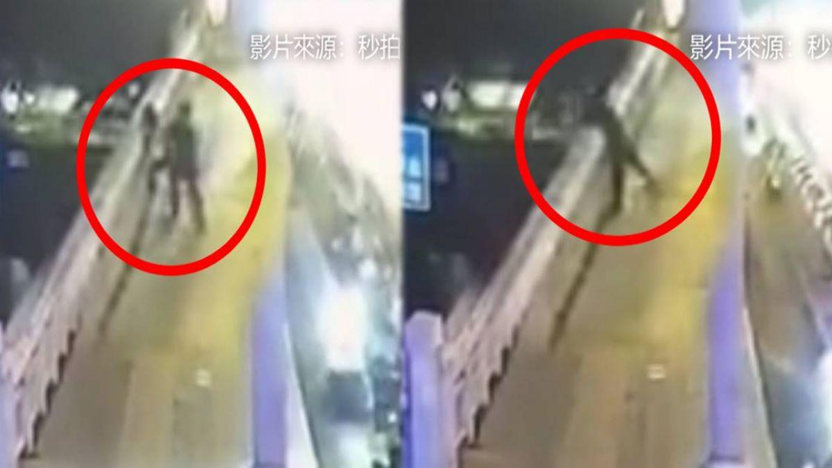 恐怖男隨機強抱!19歲女慘被「扔下橋」 網驚:GTA玩太多?