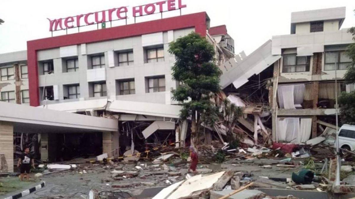 印尼強震 政府捐贈100萬美元賑災