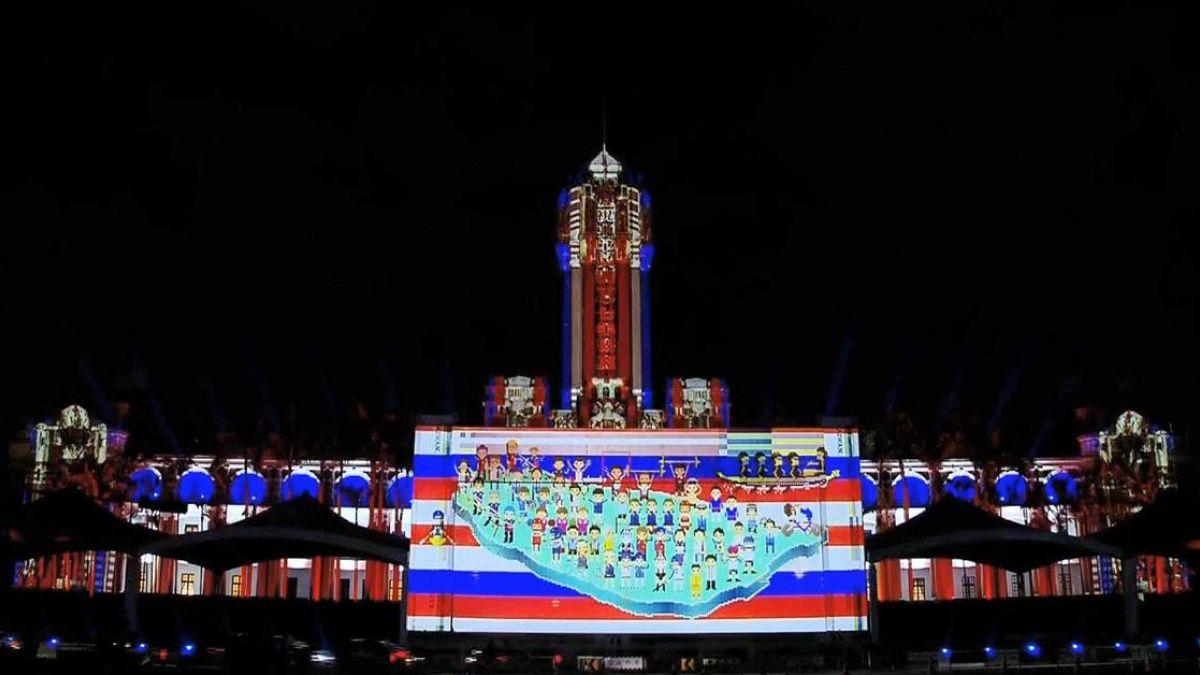 只有6天!雙十國慶光雕秀「強調台灣美學」總統府前登場
